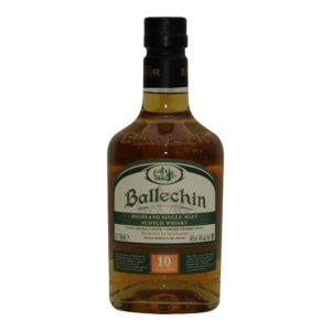 Ballechin heavily peated 10 y.o. 46%