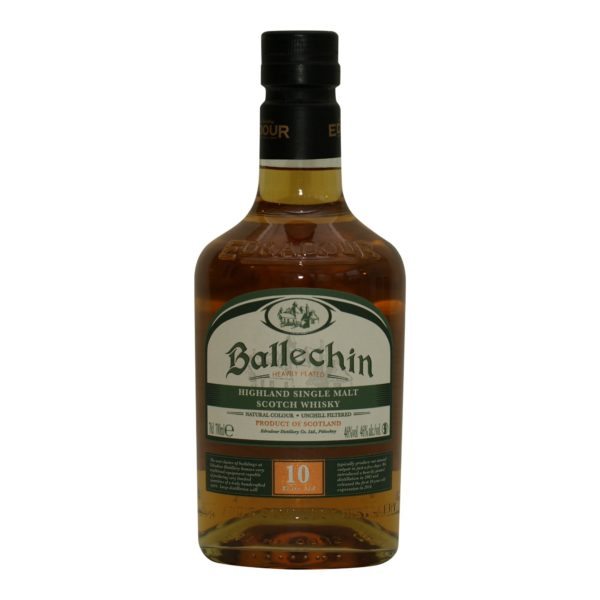 Ballechin heavily peated 10 y.o. 46%