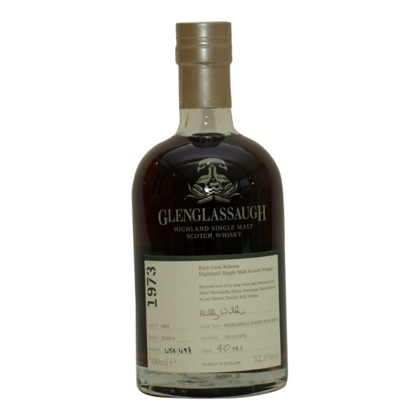 Glenglassaugh 1973 - 40 y.o 52,1%