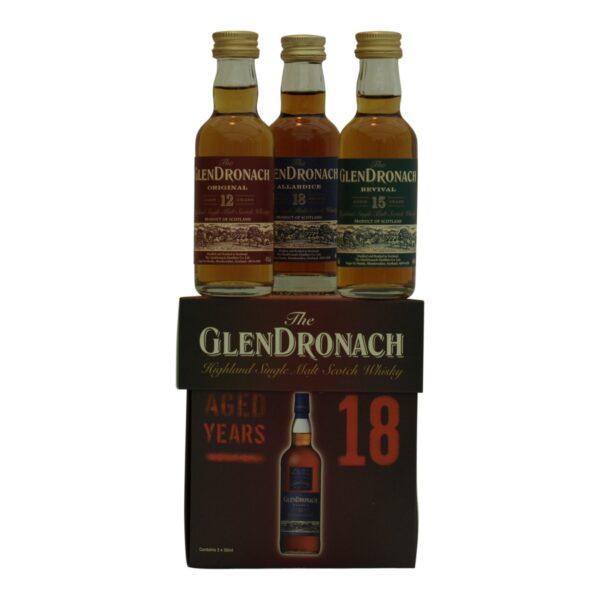 GlenDronach Miniature 3x5 cl.