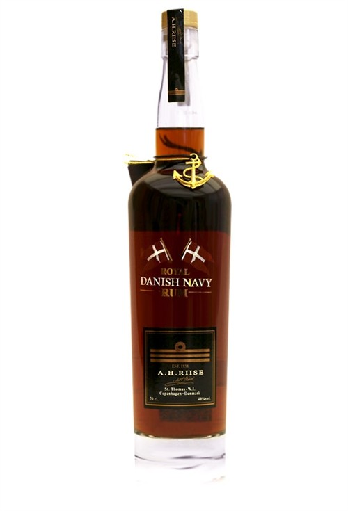 A. H. Riise Royal Danish Navy Rum 40%