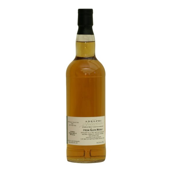 Glen Moray 1991 Adelphi Club Denmark 54,3%