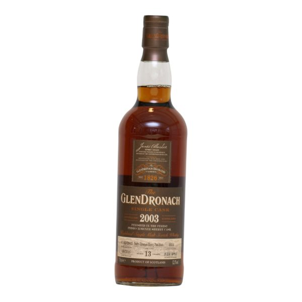 GlenDronach 2003 Cask 4034 · 13 y.o 52,5%