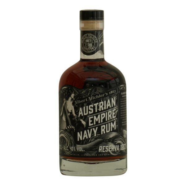 Austrian Empire Navy Rum reserve 40%