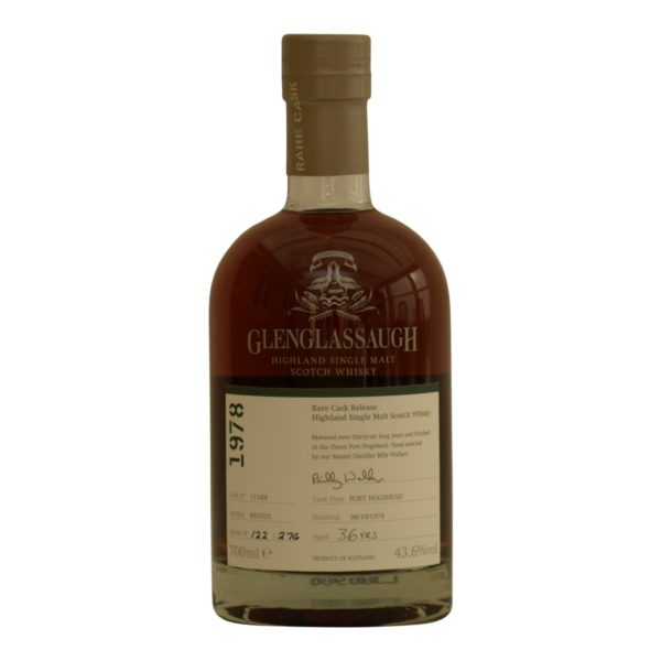 Glenglassaugh 1978 - 36 y.o 43,6%