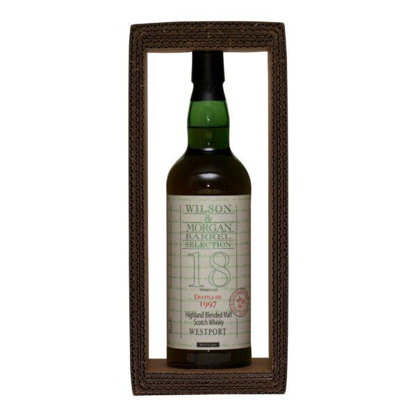 Westport 18 år · 58,5% sherry wood Wilson & Morgan
