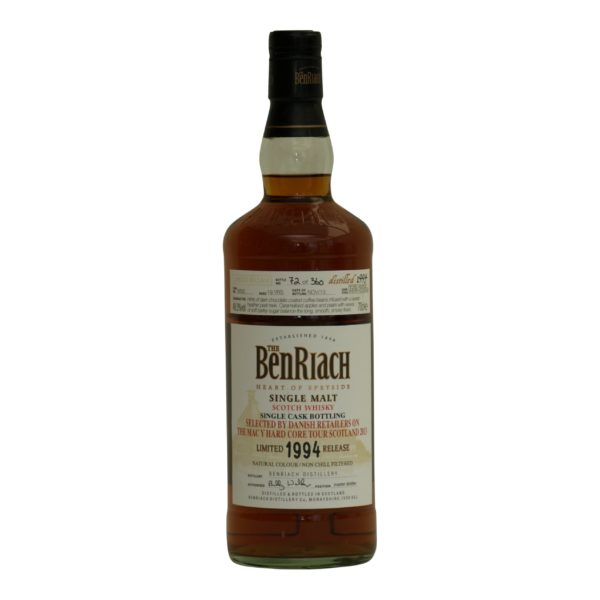 BenRiach peated PX Limited Edition 19 y.o 48%