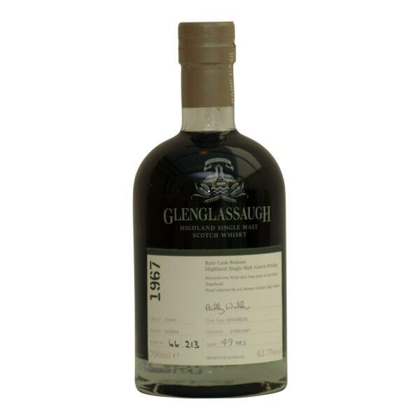 Glenglassaugh 1967 - 49 y.o cask 1114-1 42,7%