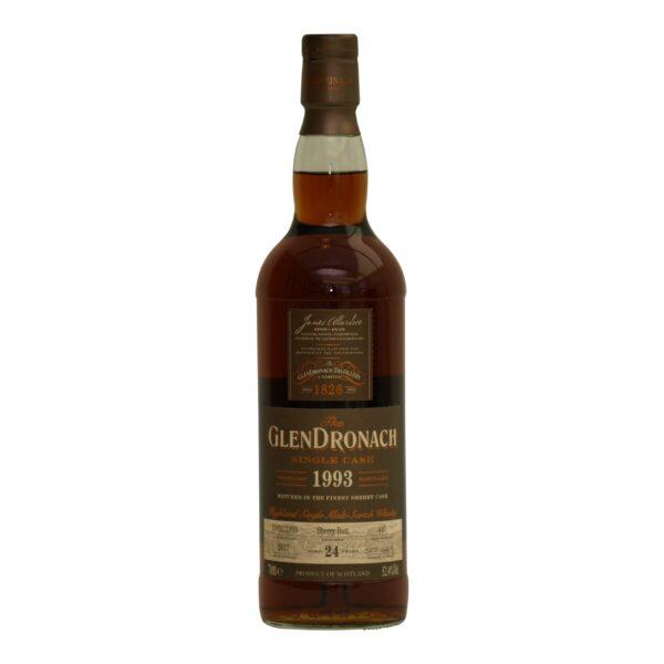 GlenDronach 1993 Cask 445 · 24 y.o. 52,4% batch16