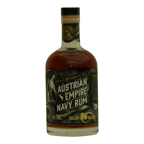 Austrian Empire Navy Rum solera 25 år 40%
