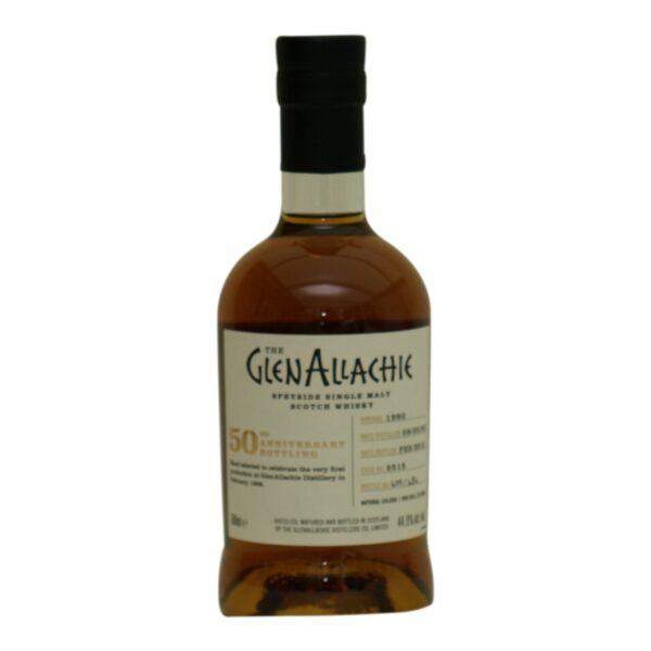 GlenAllachie 1990 cask 2515 - 50th ann. 44,9% 50 cl.