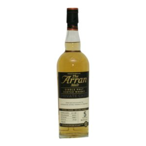 Arran Private Cask 1866 Peated 50 ppm · 5 y.o. · 58,4%