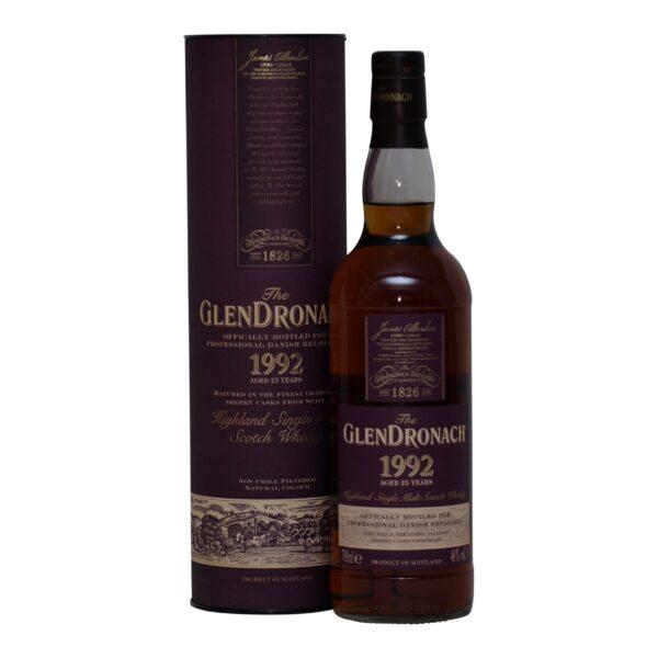 GlenDronach 1992 DK only · 25 y.o. 48%