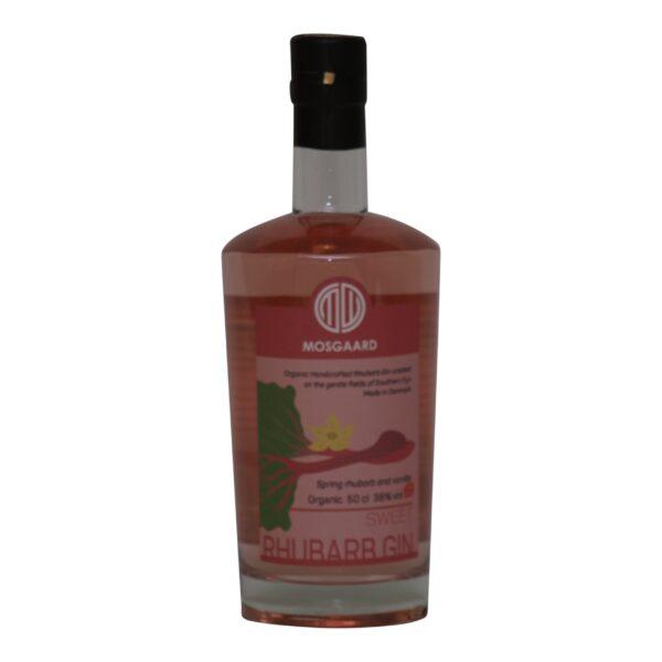 Mosgaard sweet rhubarb gin 38% 50 cl.