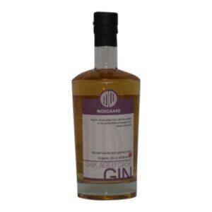 Mosgaard Oak aged cask Gin 40% 50 cl.