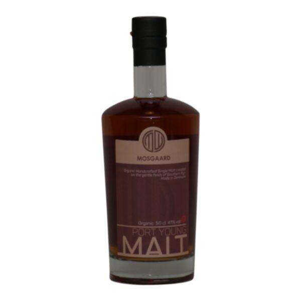 Mosgaard Port Young Malt 41% 50 cl.
