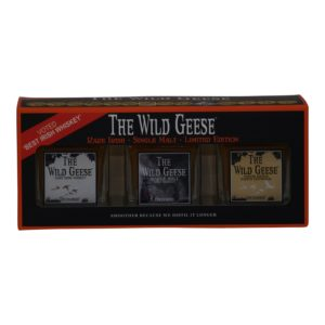 Wild Geese 3 x 5cl. Gaveæske