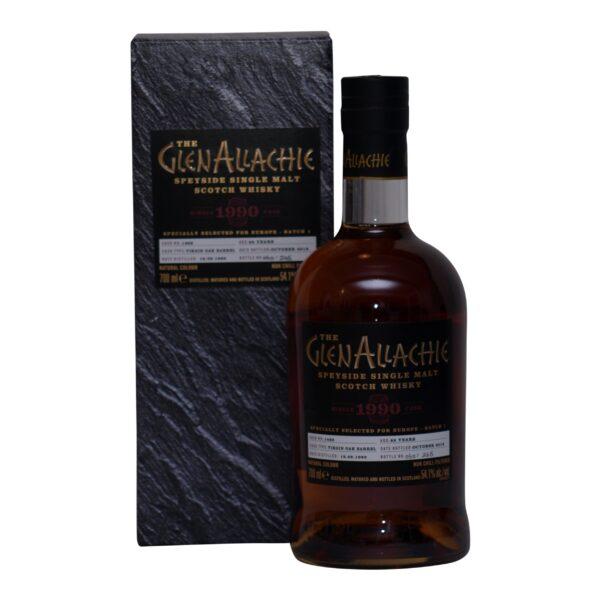 GlenAllachie 1990 cask 1468 - 54,1% .