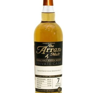 Arran Private Cask 155 Peated · 7 y.o. · 55,5%